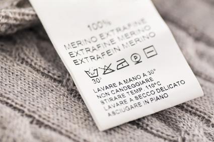 Textilienkennzeichnungsverordnung Spandex Abmahnung